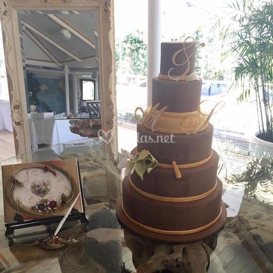 Tarta de boda S&M