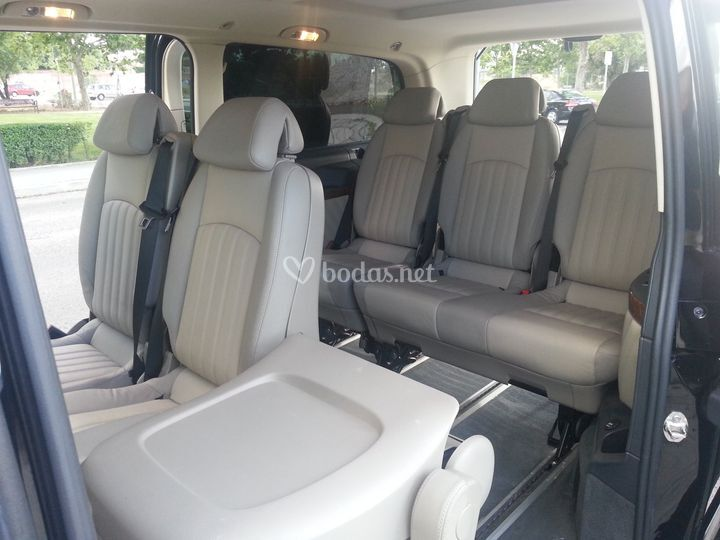 Interior Mercedes Viano