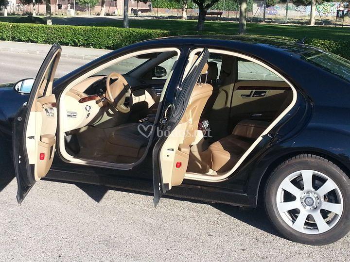 Mercedes de lujo para bodas