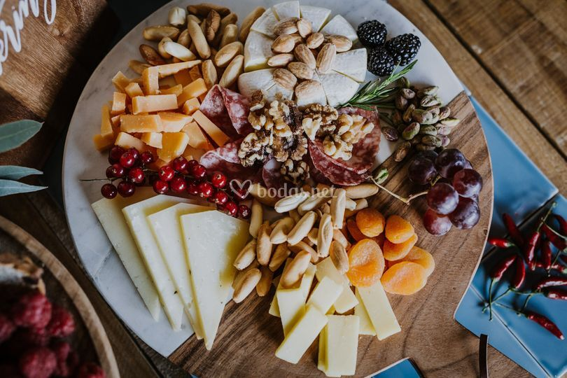 Bandeja de quesos
