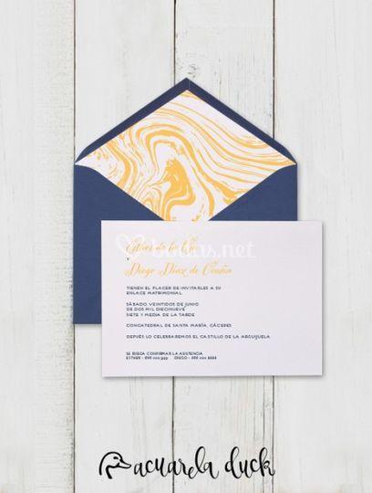 Invitación Wind