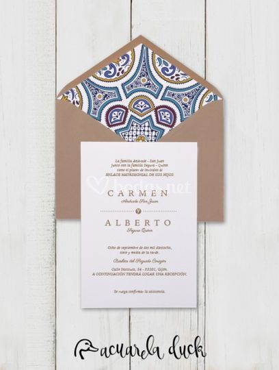 Invitación Tanger