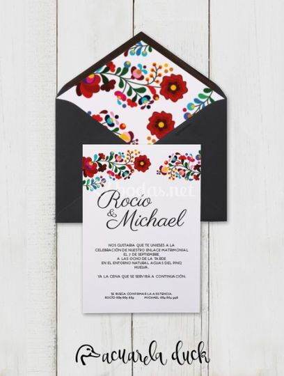 Invitación Viva Mexico