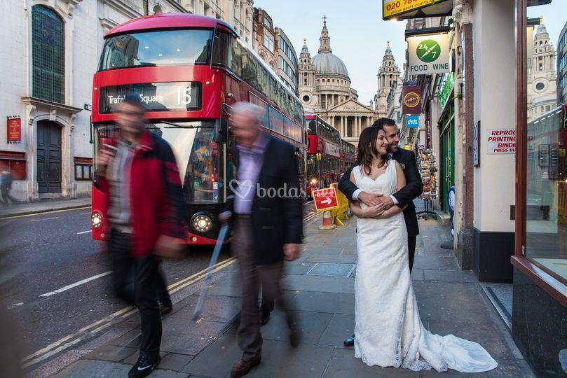 London Trash the dress