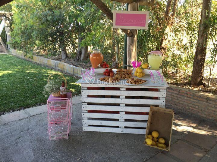 Mesa limonada