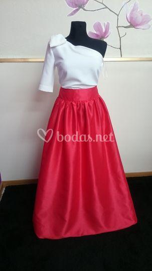 Combi falda top