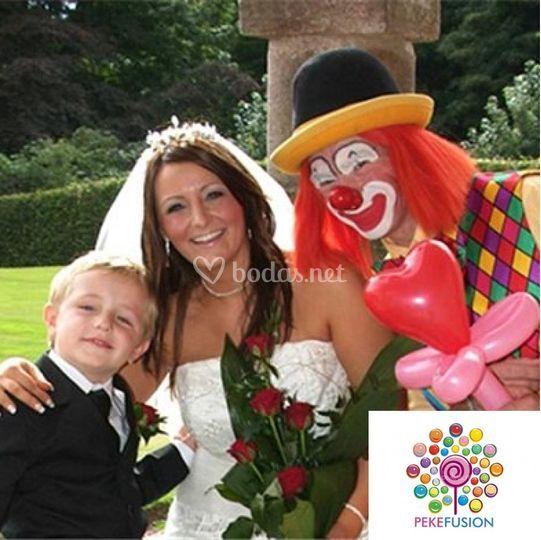 Animador infantil bodas