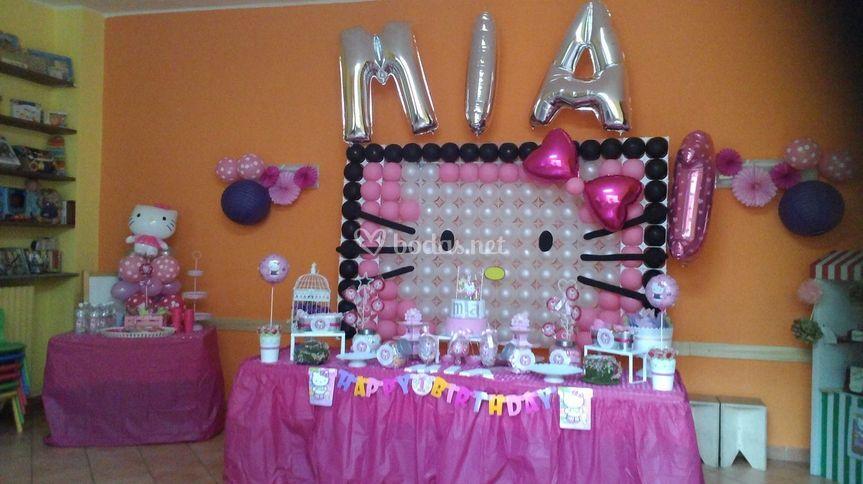 Mesa para cumpleaños