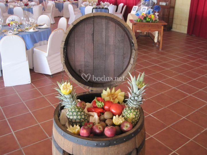 Decoración frutal