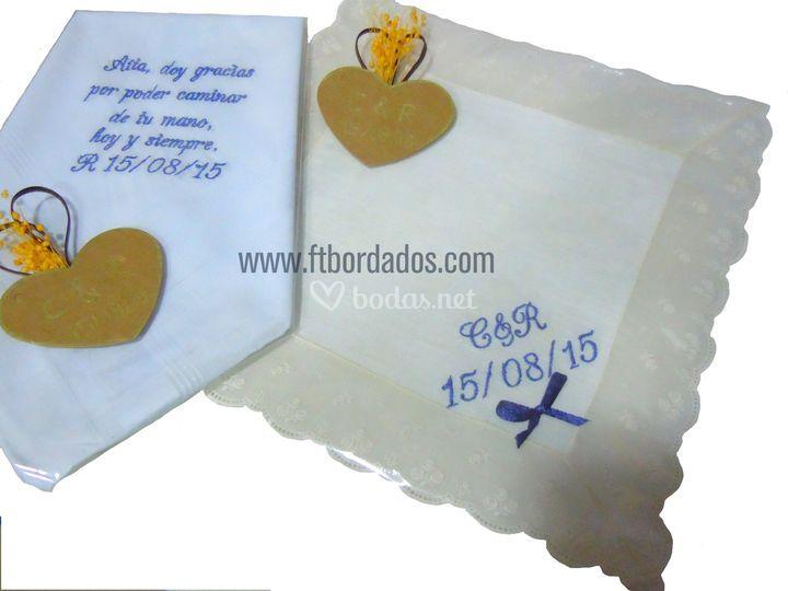 Pañuelos para padrinos
