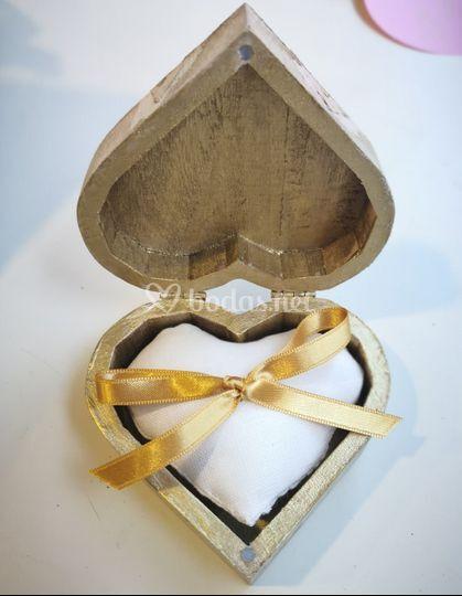 Para llevar los anillos