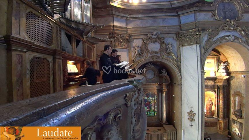 Vocal y organista