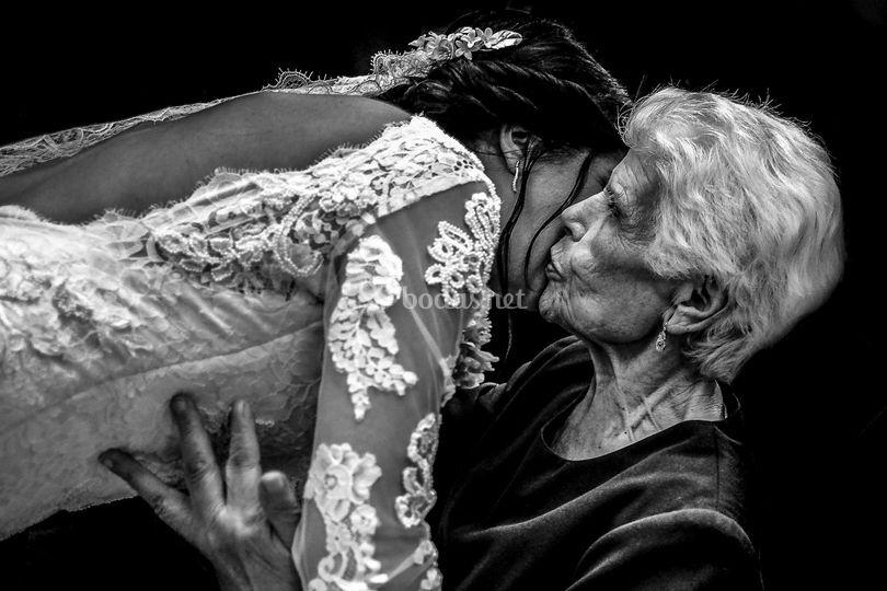 Beso de la abuela