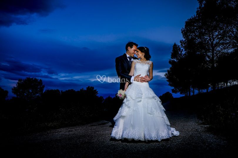 Fotos boda noche villafranca d