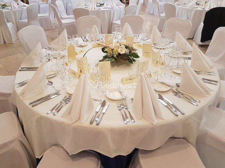 Mesa del banquete
