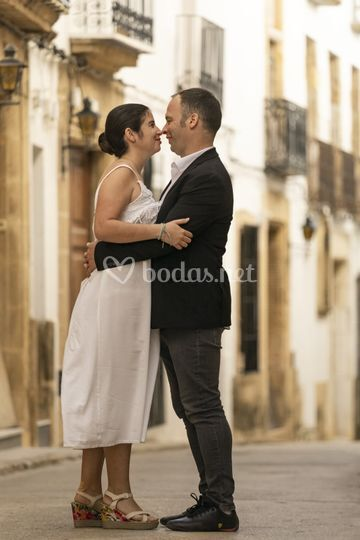 Rebeca y Jorge