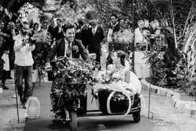 Vespa & Wedding
