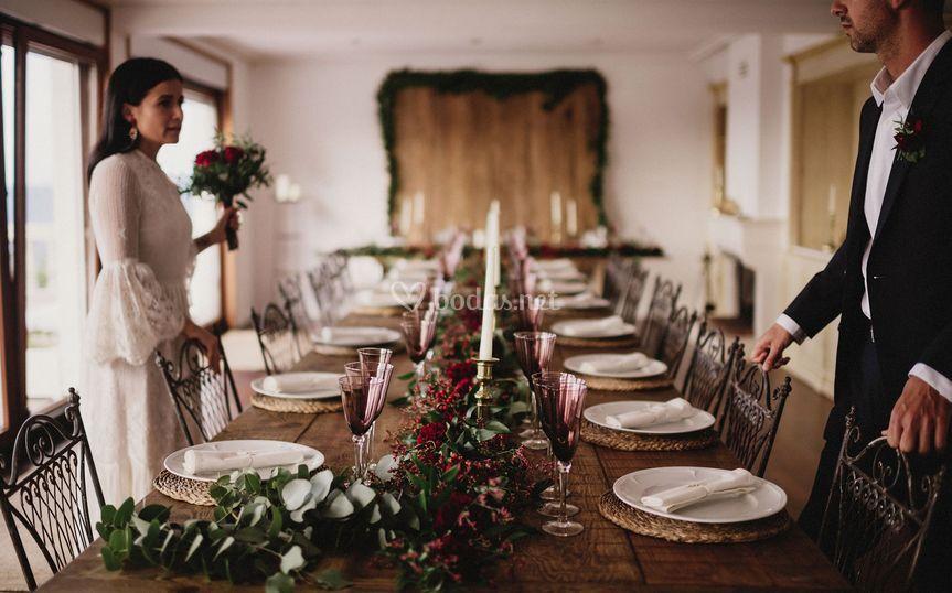 Mesas con encanto