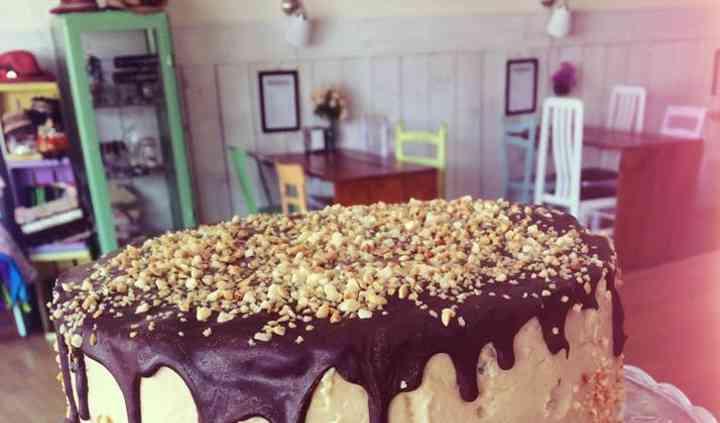 Tarta de caramelo crocanti