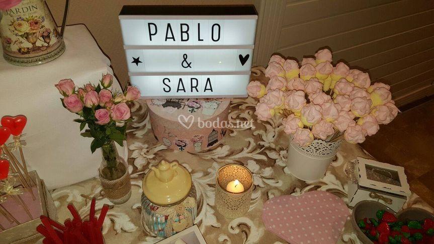 LIGHTBOX Sara y Pablo