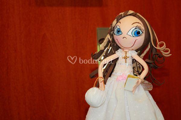 Muñeca personalizada regalo