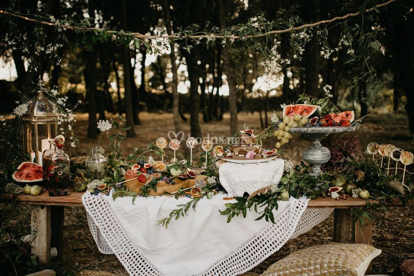Mesa dulce silvestre