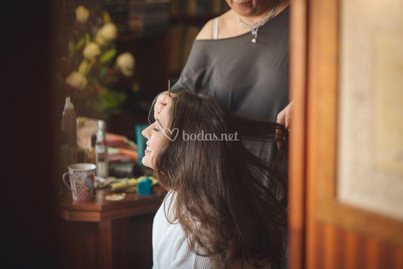 Peluquería y maquillaje