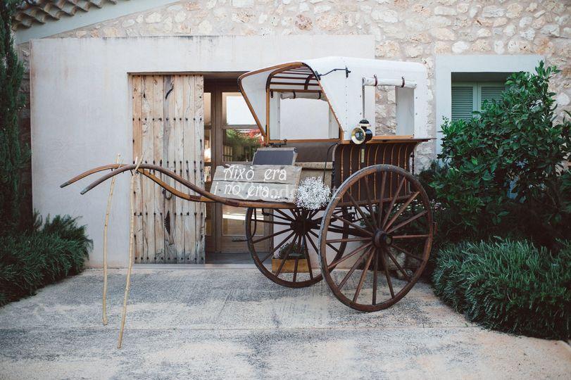 Boda romántica en Mallorca
