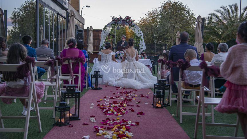 Montaje ceremonia civil