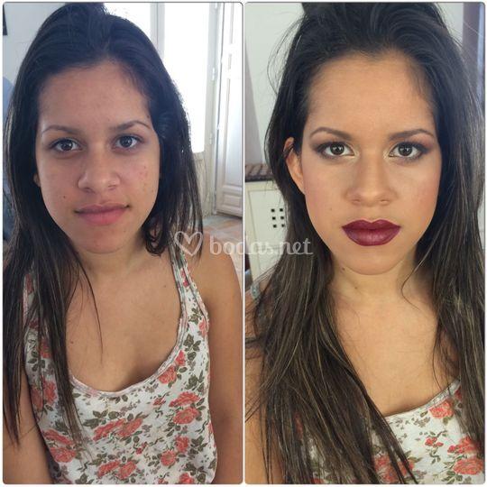 Diana Onica make-up