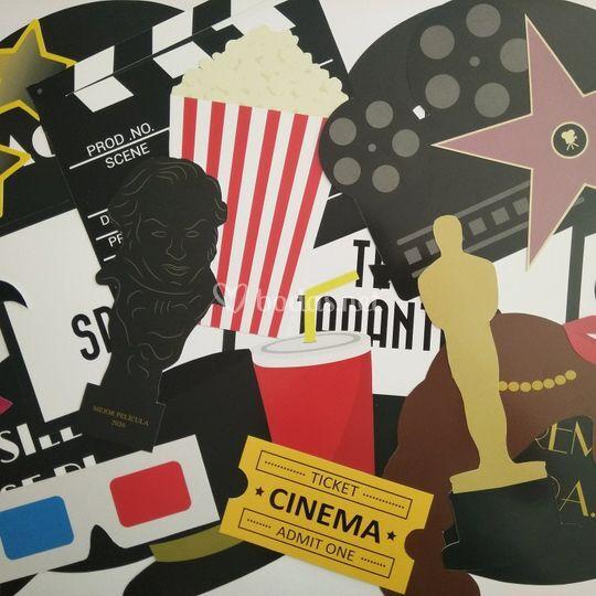 Kit photocall cine