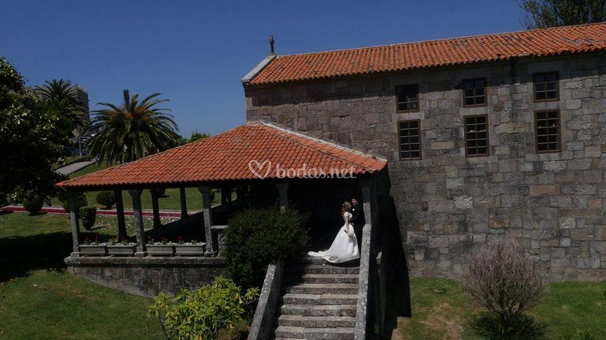 Aerocamaras boda baiona