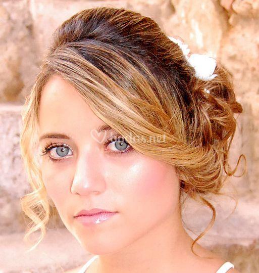 Maquillaje y peinado de boda