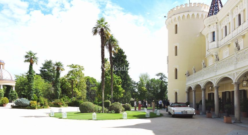 castillo de viñuelas - aldovea catering
