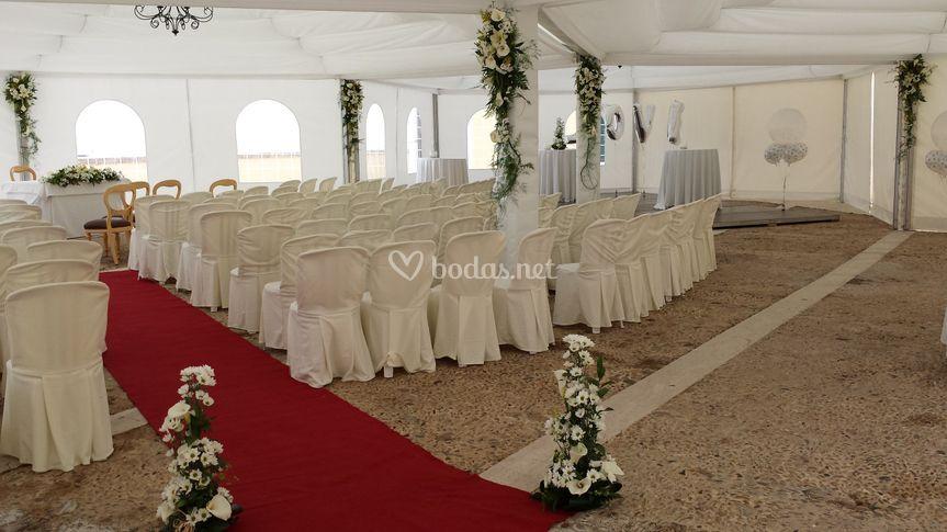 Arreglos de bodas civiles