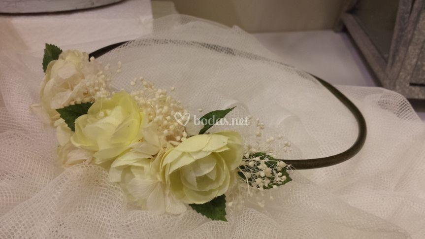 Pasadas con flores secas
