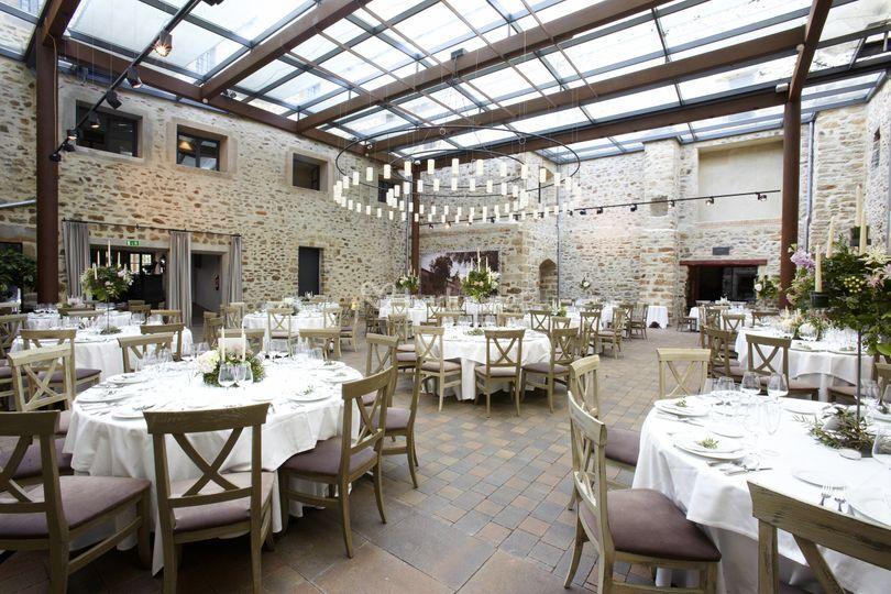 Espacio para banquetes