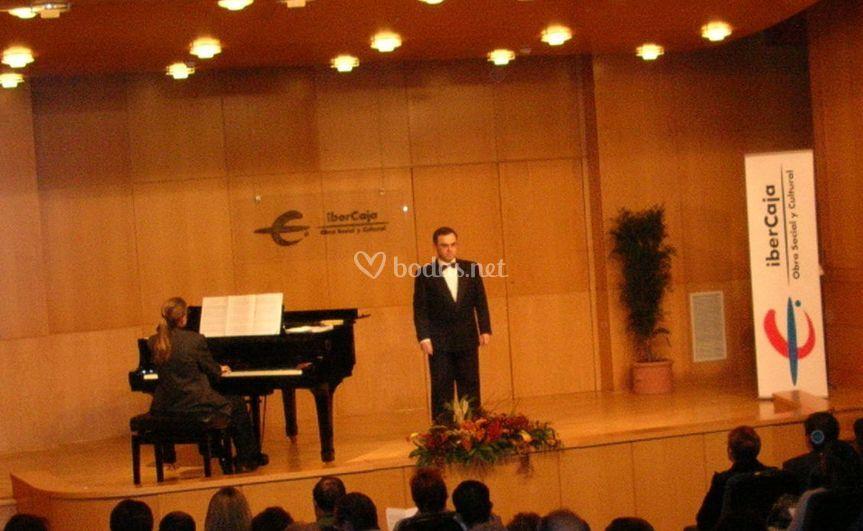 Recital en Ibercaja