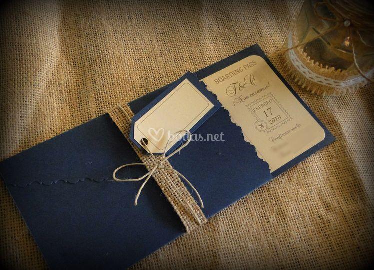 Invitaciones Artesanales Bodas Net