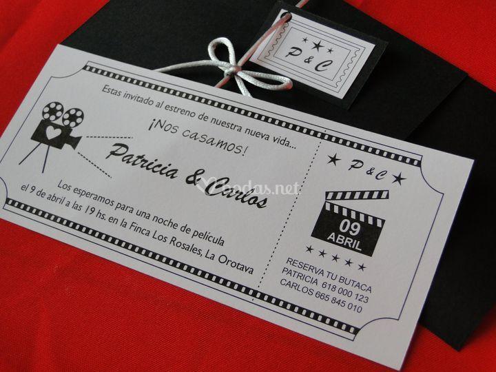 Invitacion cine