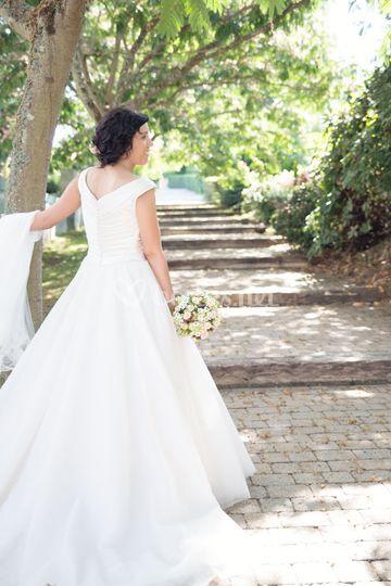 El estilo de la novia