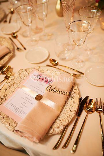 Mesas para bodas ESDS