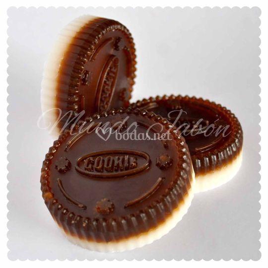 Cookies chocolate y nata
