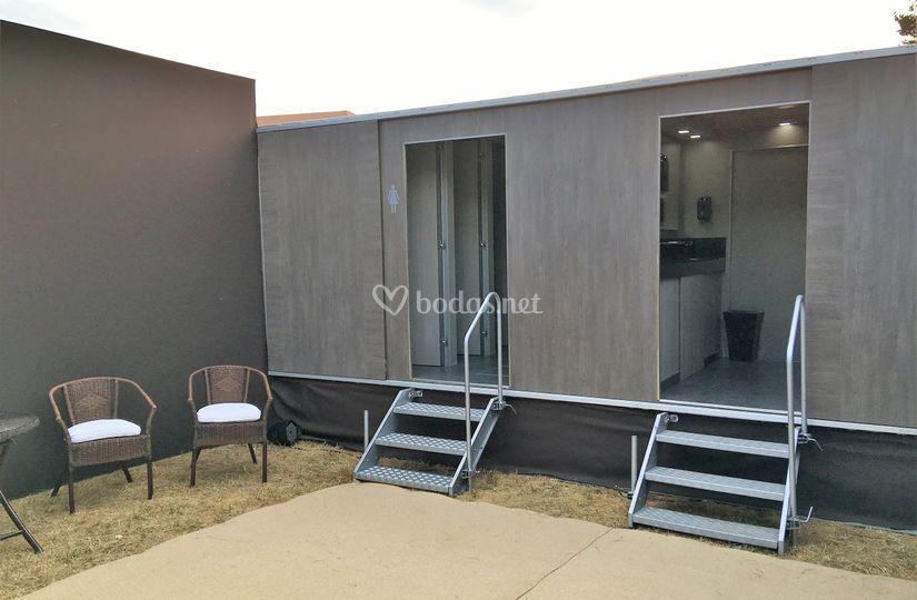 Special toilet exterior