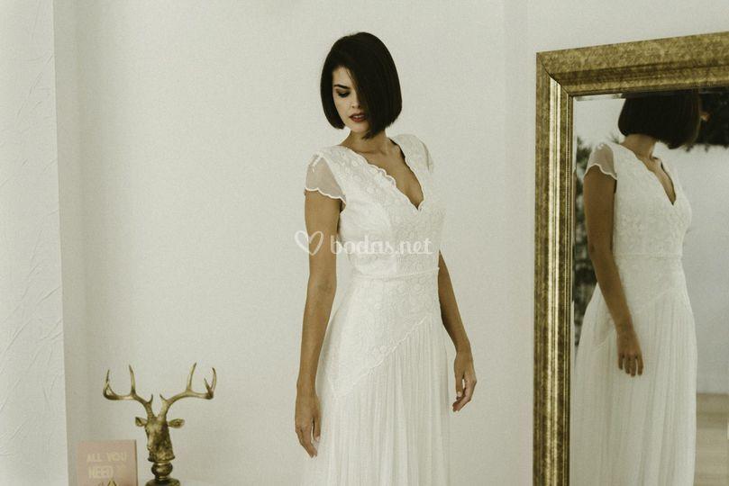 Vestido de novia panambi
