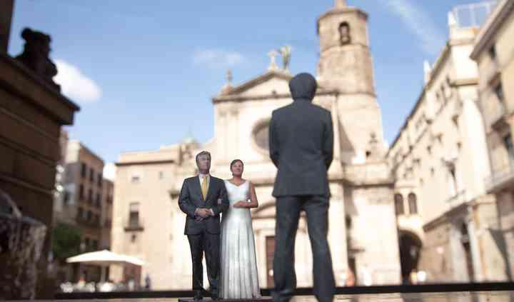 El novio espera a la novia
