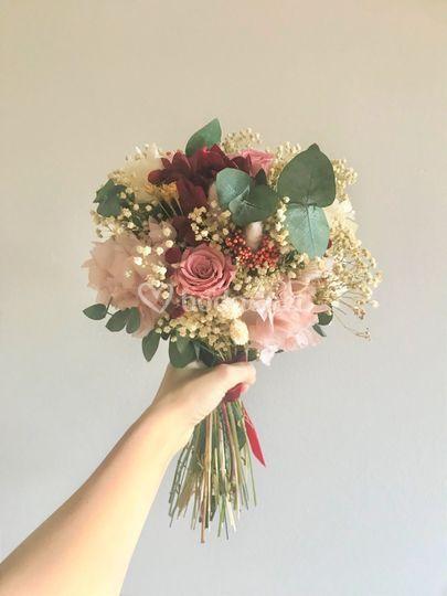 Ramo tipo bouquet