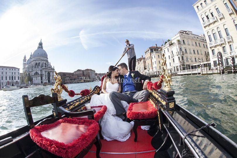 Los novios en Venecia