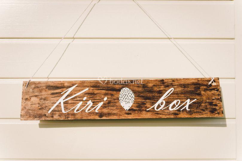 Detalles de decoración Kiribox