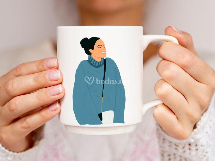 Ejemplo de taza personalizada